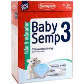 BabySemp 3 9mån 900g Semper