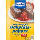 Bakplåtspapper 30-p Toppits