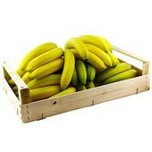 Bananer Ekologiska hel låda ca 18kg Klass 1