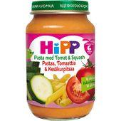 Barnmat Pasta Tom/Squash 6 m Ekologisk 190g Hipp