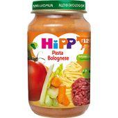 Barnmat Pasta/köttfärssås 12mån Ekologisk 220g Hipp