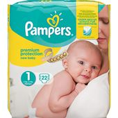 Blöjor New Baby (1) 2-5kg 22-p Pampers