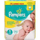 Blöjor New Baby (1) 2-5kg 72-p Pampers