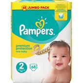 Blöjor New Baby (2) 3-6kg 68-p Pampers