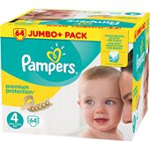 Blöjor Premium Protection (4) 8-16kg 64-p Pampers
