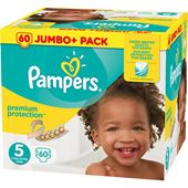 Blöjor Premium Protection (5) 11-23kg 60-p Pampers