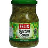 Bostongurka Original 375g Felix