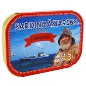 Brisling Tomatsås 100 g Sardinmästarens