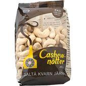 Cashewnötter Eko 200g Saltå Kvarn