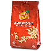 Cashewnötter Rostade&Saltade 400g Exotic Snacks