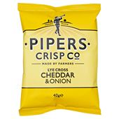 Cheese & Onion 40g Pipers Crisps