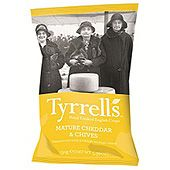 Chips Cheddar Cheese&Chive 150g Tyrrells
