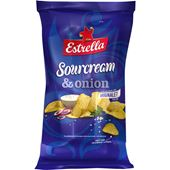 Chips Sourcream & Onion 275g Estrella