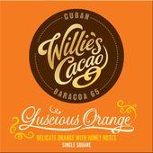 Choklad Cuban Apelsin 65% 50g Willies Cacao