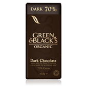 Choklad Dark 70% EKO Fairtrade 100g Green&Black's