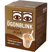 Chokladdryckpulver 8x30g Ögonblink