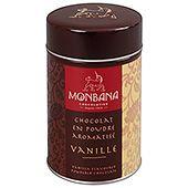 Chokladpulver Vanilla 250g Monbana