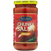 Chunky salsa med 350g Santa Maria