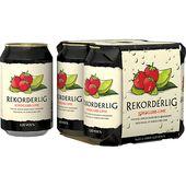 Rekorderlig Cider Jordgubb-Lime 2,25% 4x33cl