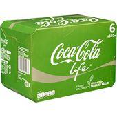 Coca-Cola Life 6x33cl