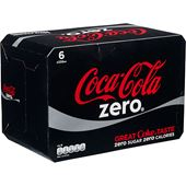 Coca-Cola Zero 6x33cl