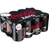 Coca-Cola Zero Miniburk 12x15cl
