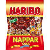 Cola nappar påse 80g Haribo