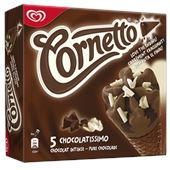 Cornetto Chocolat Intense 5x90ml