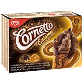 Cornetto enigma choklad/karamell 4p