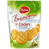 Crackers Rosmarin Glutenfria 125g Delser