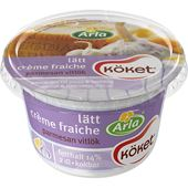 Creme Fraiche Lätt Parmesan/Vitlök 14% 2dl Arla