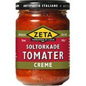 Creme Soltorkade tomater 140g Zeta