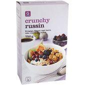 Crunchy Russin 750g Garant