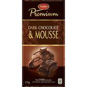 Dark Chocolate&Mousse 170g Marabou Premium