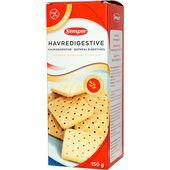 Digestivekex Havre Glutenfria 150g Semper