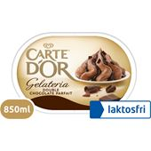 Double Chocolate Parfait Laktosfri 850ml Carte d'Or