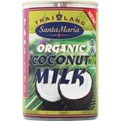 Ekologisk Kokosmjölk 400ml Santa Maria