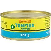 Tonfisk i vatten 170g burk Eldorado