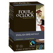 English Breakfast Te Fairtrade 16p Four O´Clock