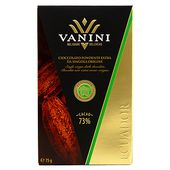 Equador 73% Cacao 75 g Vanini