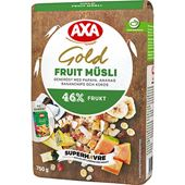F-Müsli Gold Fruit 750g Axa