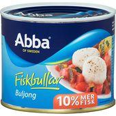 Fiskbullar buljong 550g Abba