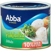 Fiskbullar dillsås 550g Abba