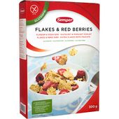 Flakes Red Berries 300g Semper