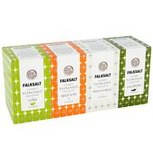 Flingsalt Lime/Jod/Wild Garlic/Jalapeño 4x60g Falksalt