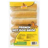French Hot Dogbröd 6-pack 360g Korvbrödsbagarn