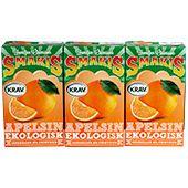 Smakis Apelsin Ekologisk 3x25cl