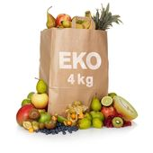 Fruktkasse Eko 4kg Klass 1
