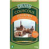 Fullkorns Couscous 1kg Druvan