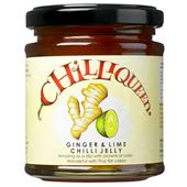 Ginger & Lime Chilli Jelly 220g Chilliqueen